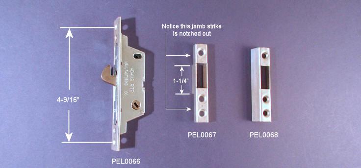 Patio Door Mortise Locks